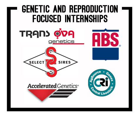 genetic and reproduction focused internship