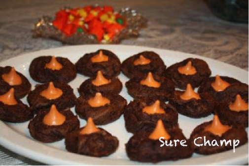 Chocolate pumpkin kiss