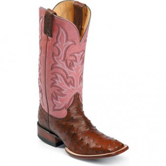Sure Champ Boot Guide: Justin AQHA Full Quill Ostrich Boots