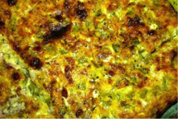 Green Chili, Sausage and Egg Casserole