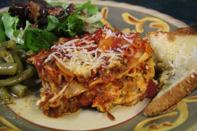 ranch kitchen lasagna