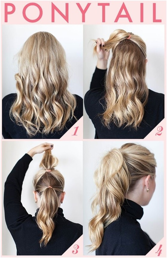 15 cute easy ponytails sure champ full volume ponytail solutioingenieria Images