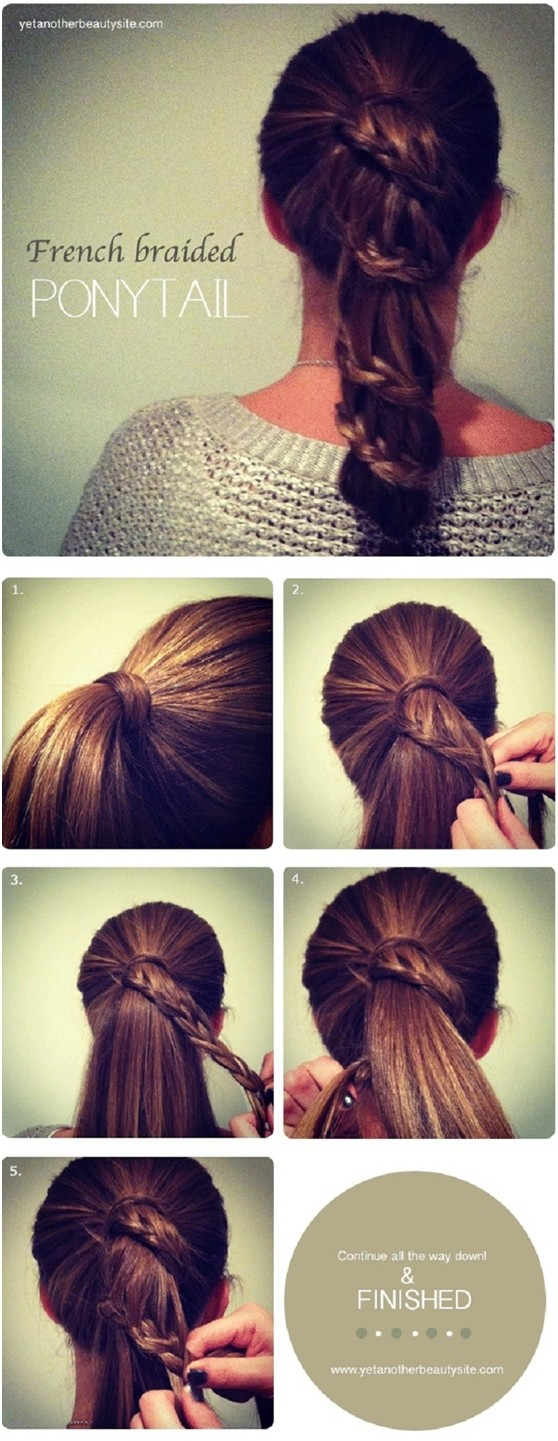 french-braided-pony