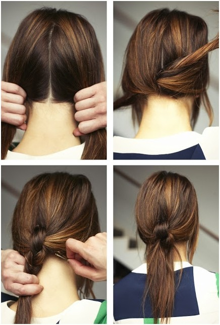 Four Strand Braid Hairstyle Tutorial Version 2