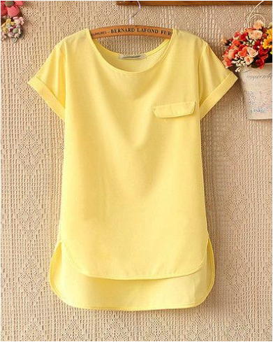 Light Yellow Tops