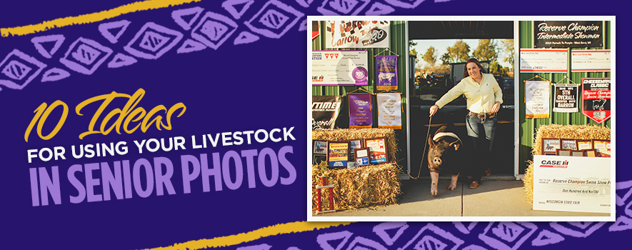 10 Ideas for Using Livestock in Senior Photos