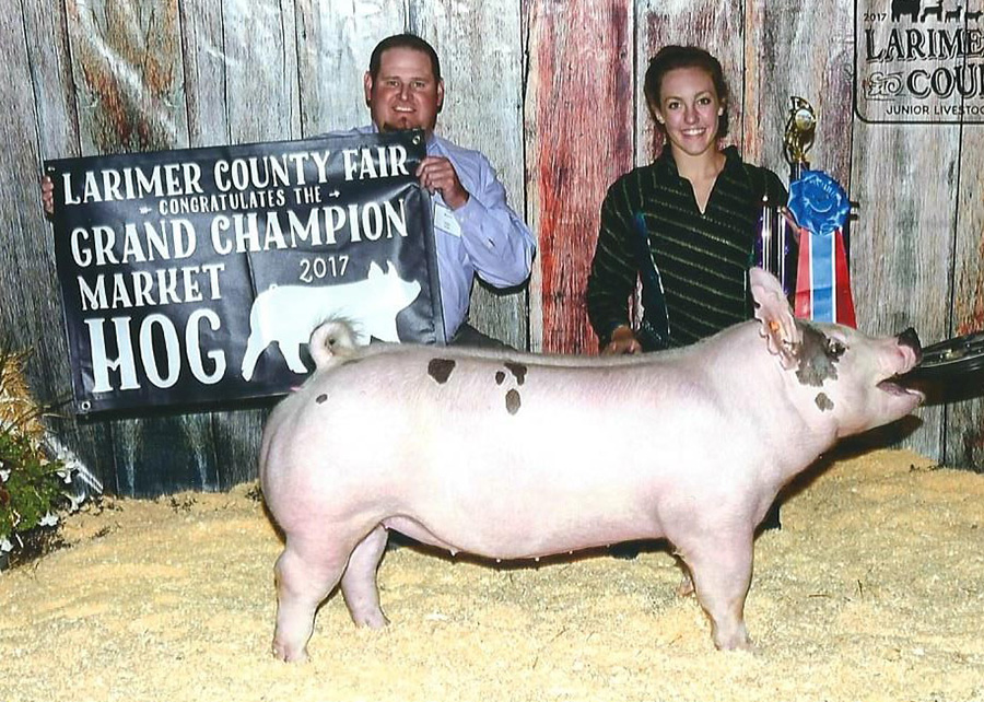Grand Champion2017 Larimer County FairAlie McEndaffer